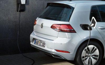 Punto de carga para el Volkswagen eléctrico